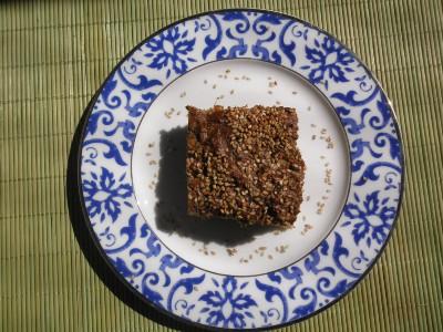 Torta de folha de cenoura