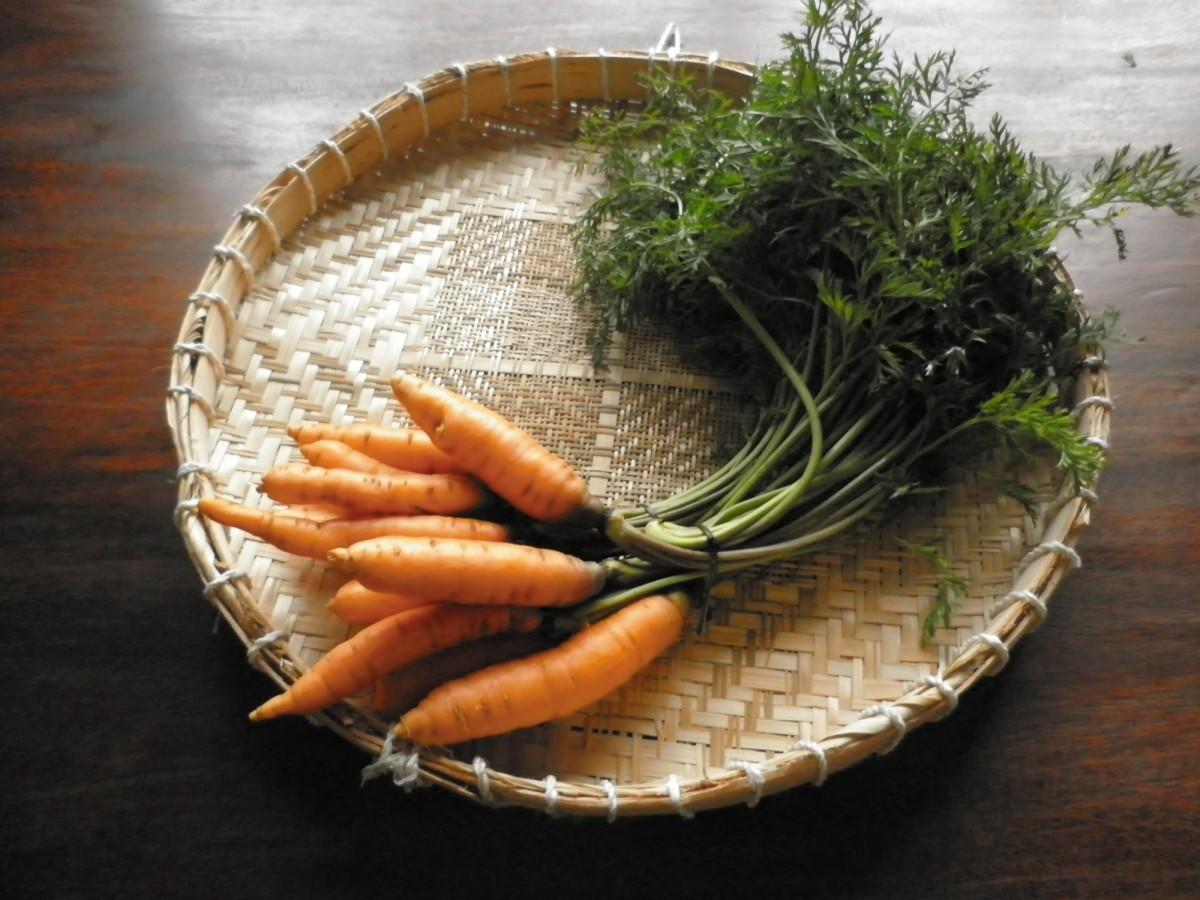 Folha de cenoura se come?