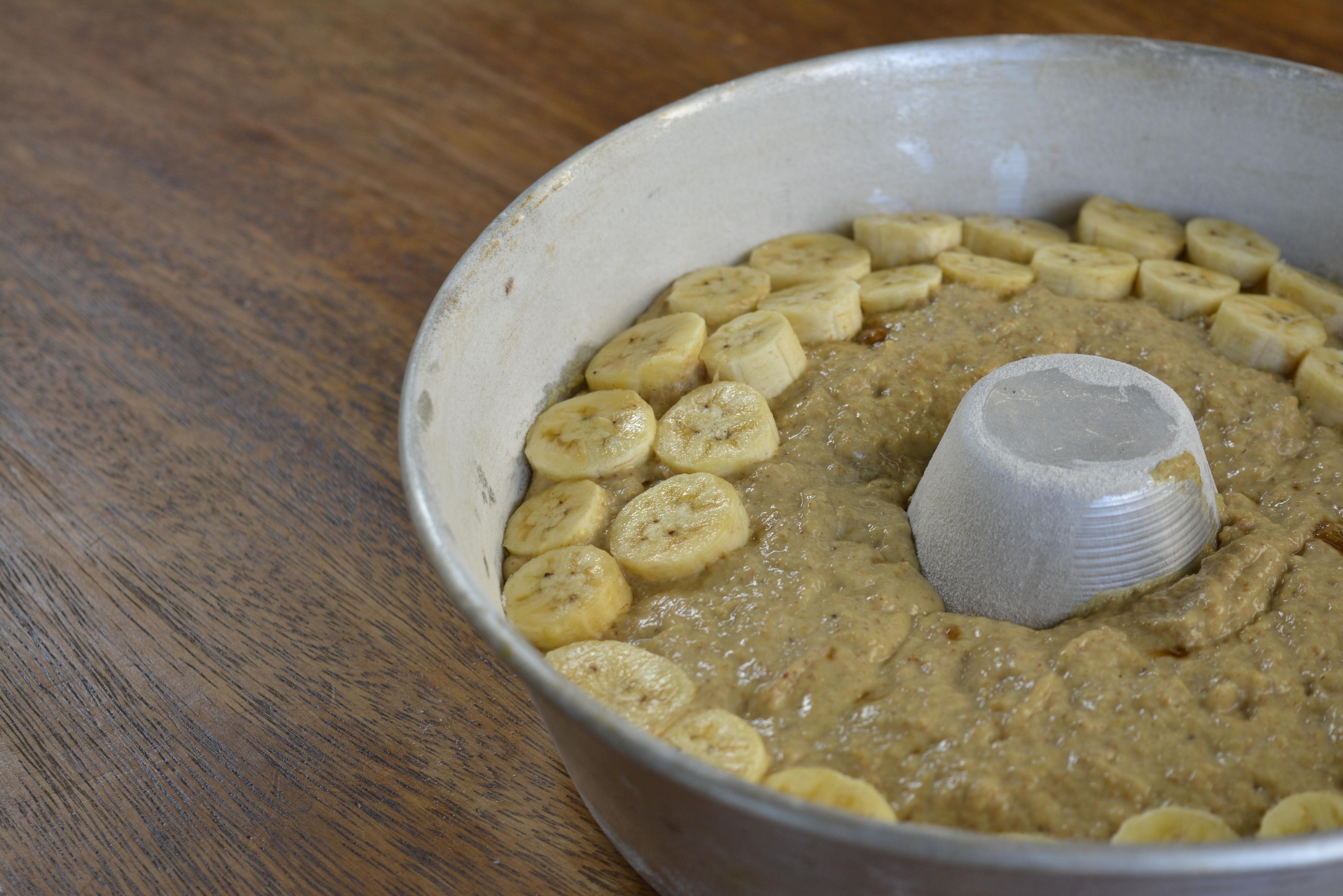 bolo de banana com puxuri